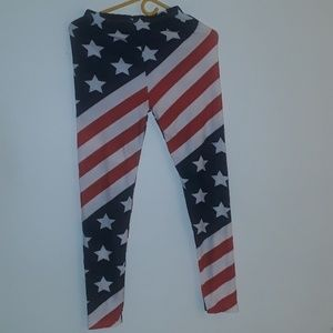 AMERICAN FLAGS TIGH SIZE M/L